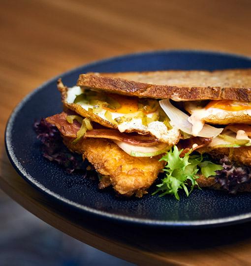 Unser Club-Sandwich, der Klassiker in der Krone